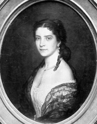 Eugene de Blaas. The Baroness de Scholl