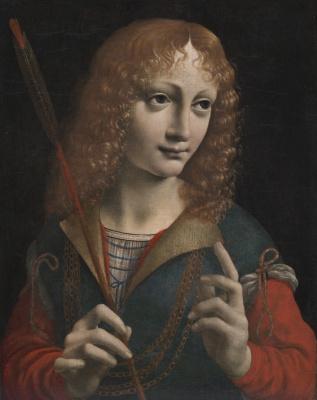 Giovanni Ambrogio de Predis. Saint Sebastian