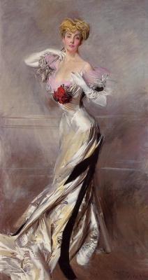 Giovanni Boldini. Portrait of Countess Zichy