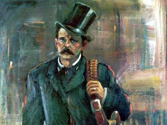 Ли Маккарти. Черная шляпа