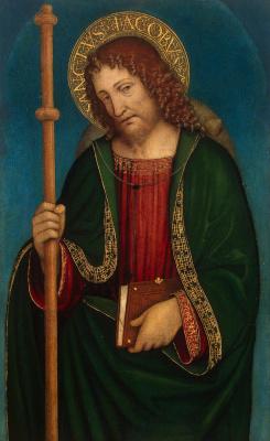 Амброджо Бергоньоне. Святой Иаков Старший