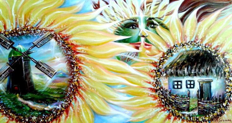 Анастасия Гурьянова. Единения солнца и подсолнуха, неба и земли