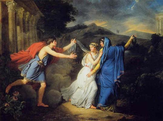 Marie Guillemin Benoit. Innocence between virtue and Vice
