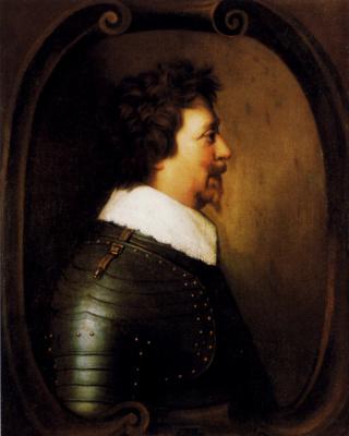 Gerard van Honthorst. Portrait Of Frederik Hendrik