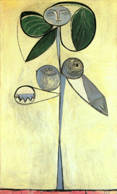 Pablo Picasso. The woman-a flower. Françoise Gilot