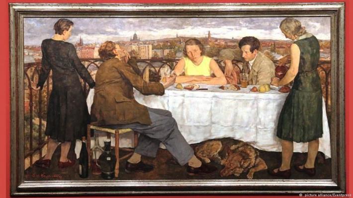 Лотта Лазерштайн. Ужин в Потсдаме