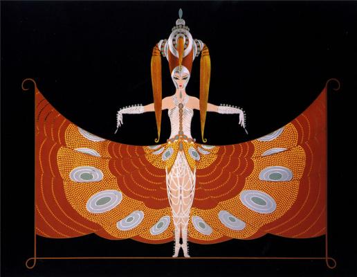 Romain Tirtoff. The Hindu Princess