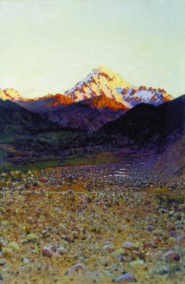 Vasily Vasilyevich Vereshchagin. In the mountains