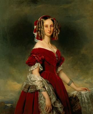 Franz Xaver Winterhalter. Louise, Queen of Belgium