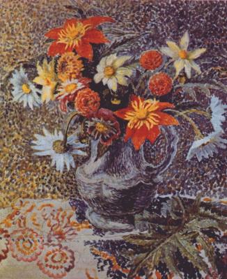 Дора Каррингтон. Натюрморт с цветами
