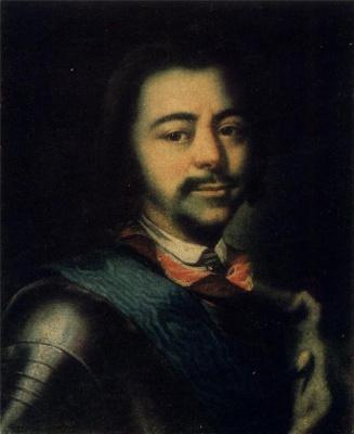 Ivan Nikitich Nikitin. Portrait Of Peter I