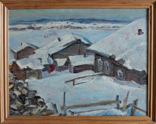 Vasily Vasilyevich Lichutin. Russian Winter