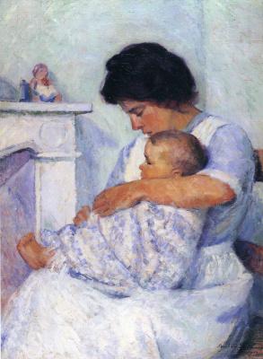Констанс Стюарт Ларраб. Забота матери