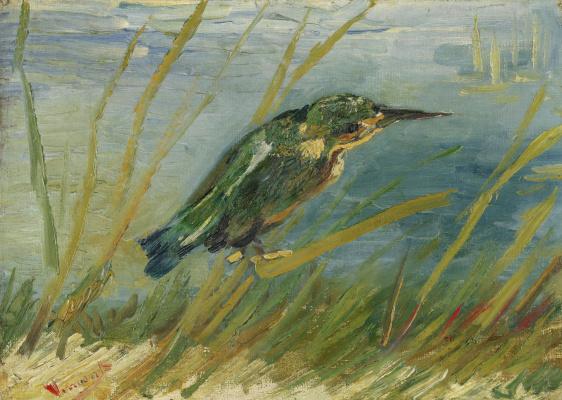 Винсент Ван Гог. Зимородок у воды