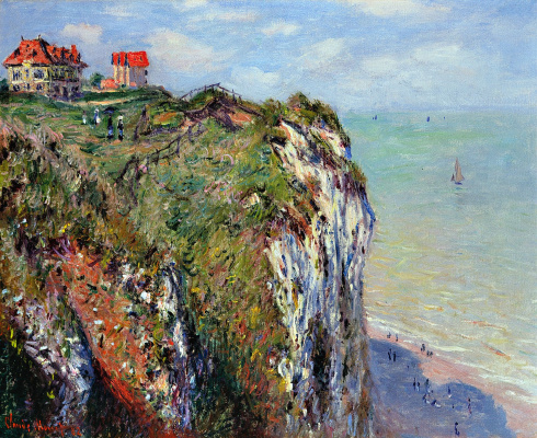 Claude Monet. Rock in Dieppe