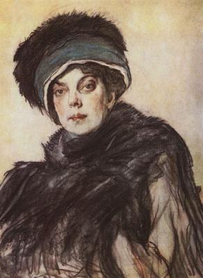 Valentin Aleksandrovich Serov. Portrait of Princess O. K. Orlova