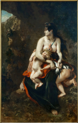 Eugene Delacroix. Medea