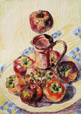 Alexander Ocher Kandinsky-DAE. Student's still life