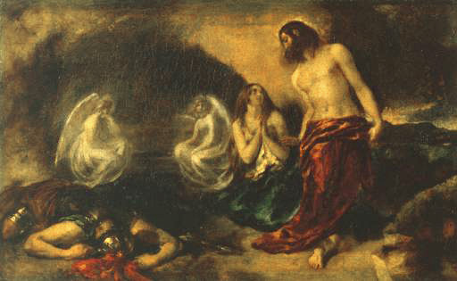Etty William. The appearance of Christ to Mary Magdalene after the Resurrection