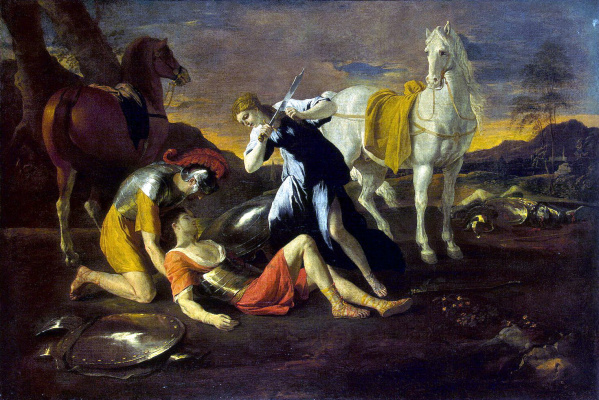Nicola Poussin. Tancred and Erminia