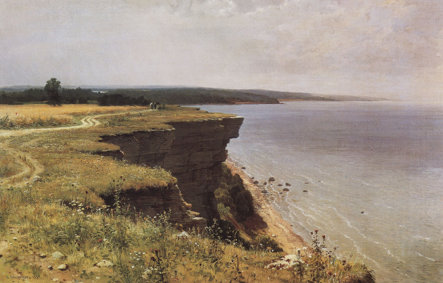 Ivan Ivanovich Shishkin. Off the coast of the Gulf of Finland (Adrias near Narva)