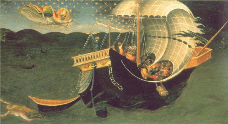 Лоренцо Бикки Ди. Святой Николай