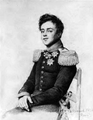 Orest Adamovich Kiprensky. Portrait of Grand Duke Mikhail Pavlovich