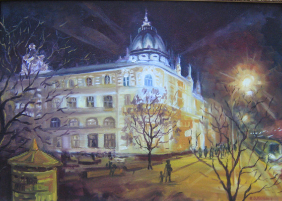 Ivan Vasilyevich Kovacs. The Rostov Lights