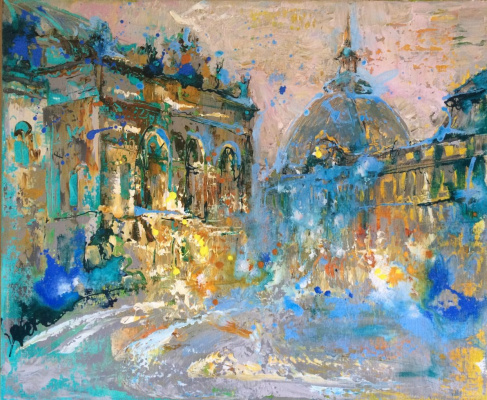 Natalia Fedoseeva-Vots. Royal square