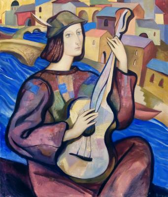 Anna Glushko. Музыкант