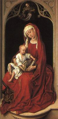 Рогир ван дер Вейден. Матерь с младенцем