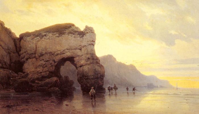 Карл Иосиф Кувассег. Ловля рыбы