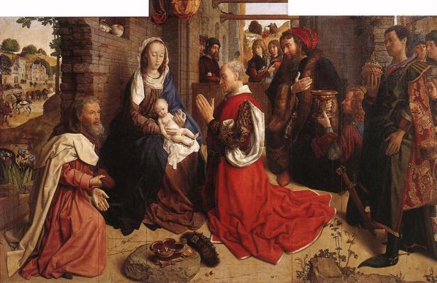 Ван Дер Гоес Гюго. Поклонение волхвов