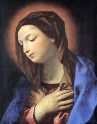 Guido Reni. The Virgin Of The Annunciation