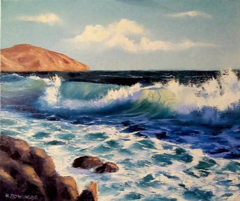 Ирина Поморова. Морской пейзаж