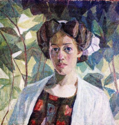 Александр Константинович Богомазов. A Portrait Of Wanda's Monastery