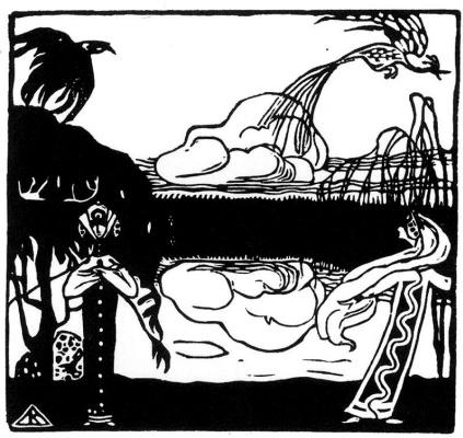 Wassily Kandinsky. Two birds