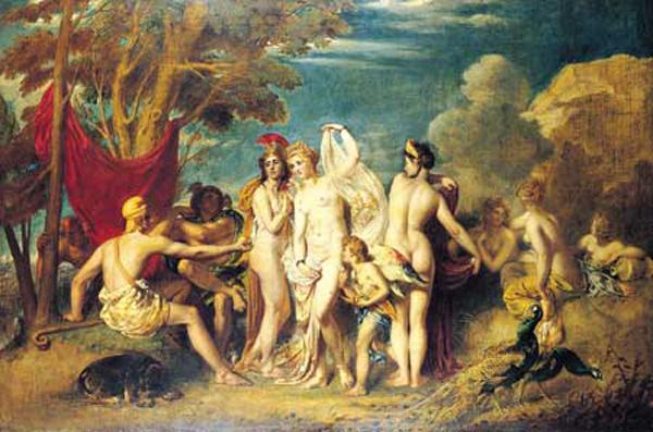 Etty William. The Judgment Of Paris