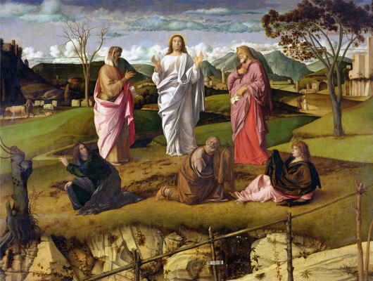 Giovanni Bellini. Transfiguration