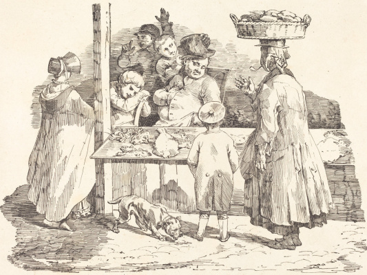 Théodore Géricault. Fishmonger