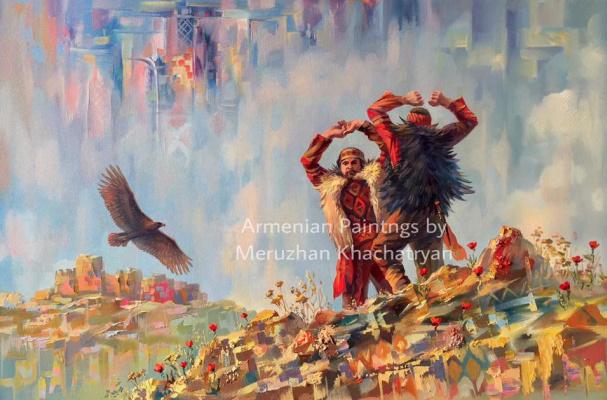 Meruzhan Khachatryan. The soul of the Armenian dance Yarhushta