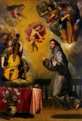 Vicente Carduco. The Vision Of Saint Anthony Of Padua