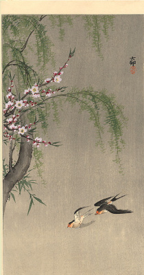 Ohara Koson. Birds 83