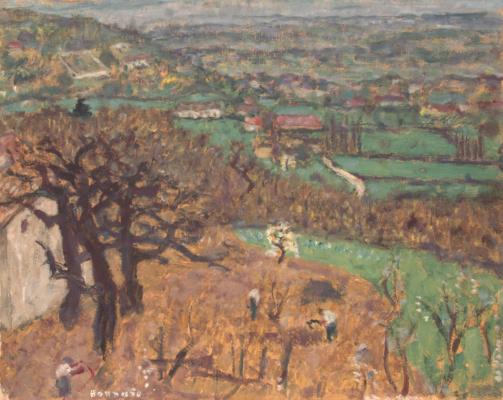 Pierre Bonnard. Landscape in the dauphiné