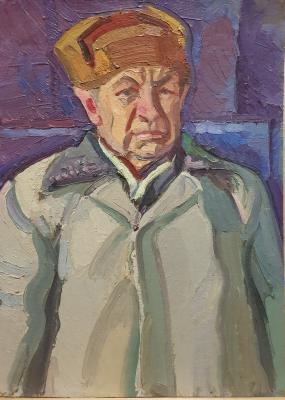 Lel Nikolaevich Kuzminkov. Portrait of a Veteran