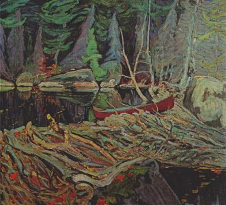 Джеймс Эдуард Херви Макдональд. Красная лодка