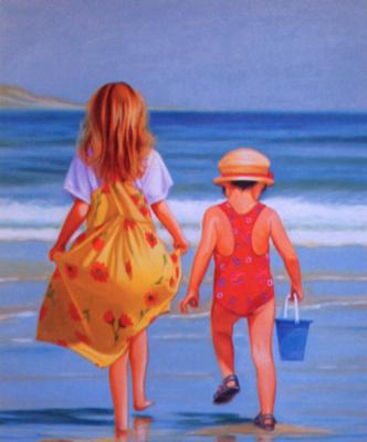Мариз Пру. Дети на пляже