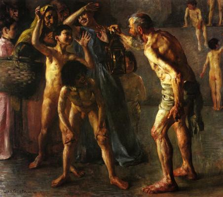 Lovis Corinto. Diogenes