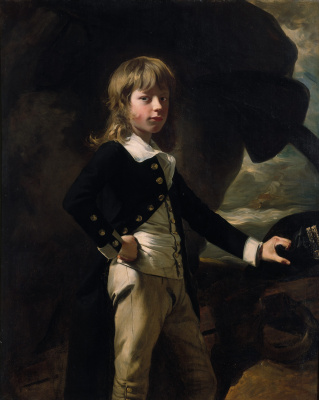 John Singleton Copley. Middy August Brin