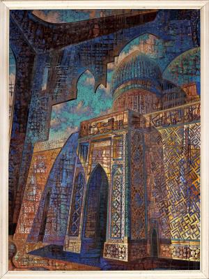 Игорь Юрьевич Евсеев. Mausoleum of Ahmad Yassawi 2